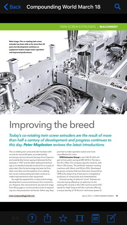 Compounding World Magazine screenshot-3