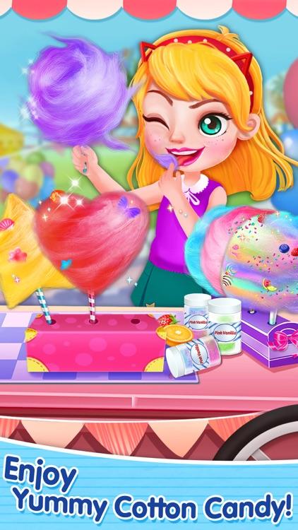 Sweet Cotton Candy Mania! - Yummy Desserts Maker screenshot-3