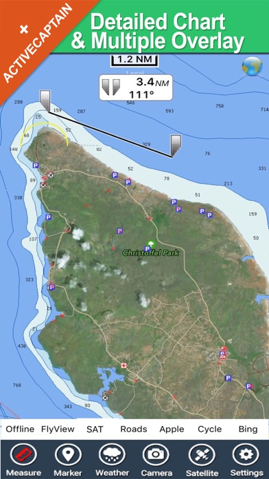 Curacao - GPS Map Navigator screenshot one