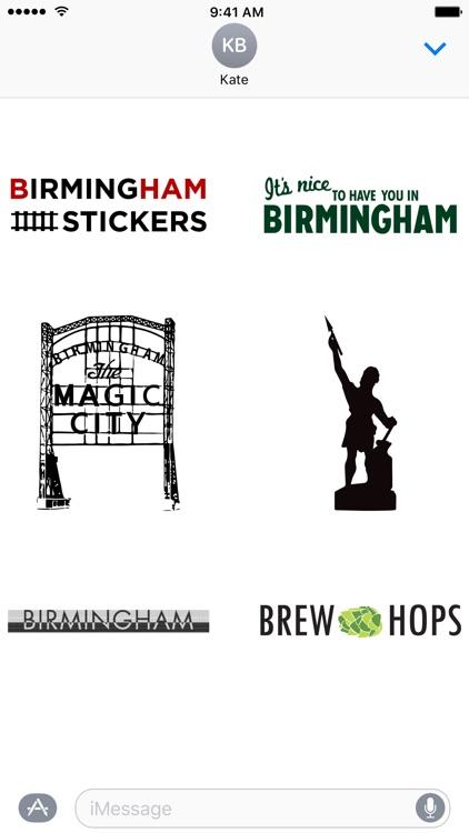 Birmingham Stickers