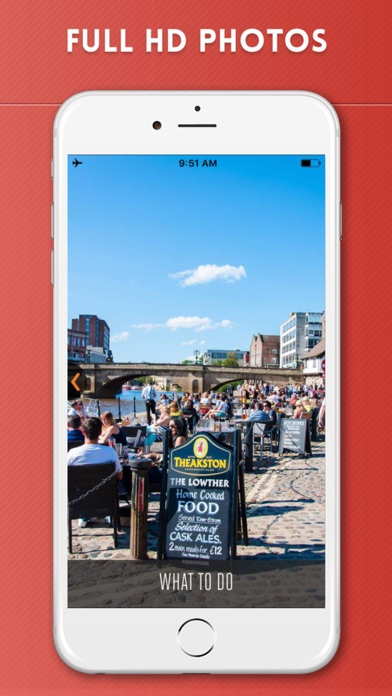 York Travel Guide with Offline City Street Map screenshot two