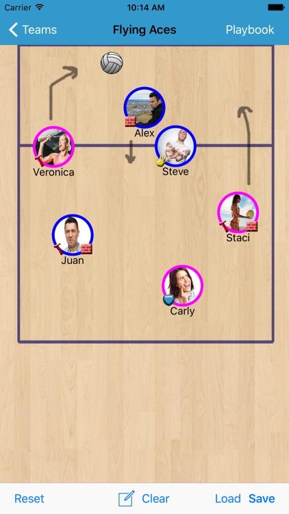 Volleyball Planner screenshot-3