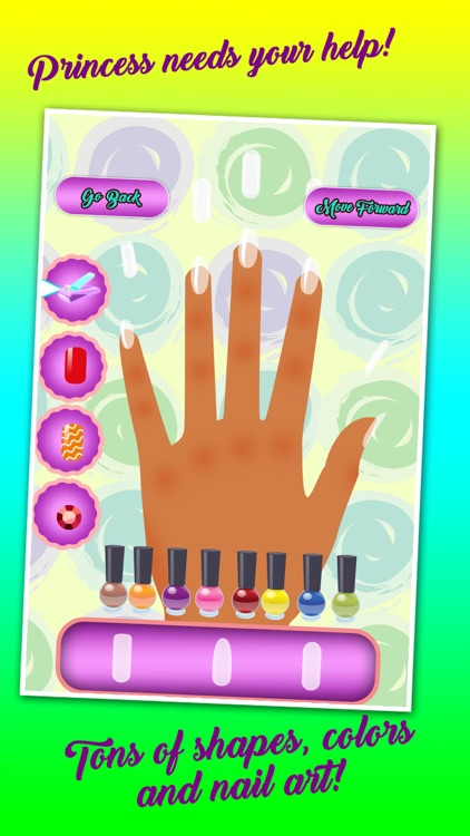 Girls nail party salon: A full fashion mackup game Saloon where girls can practice nail art 24 hours for Free. screenshot-3