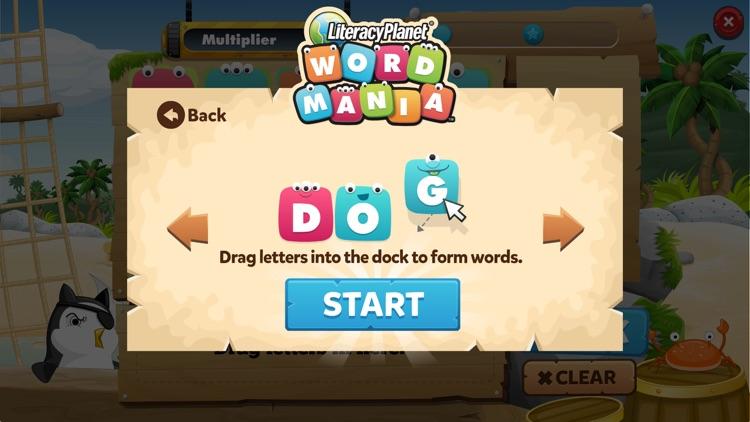 LiteracyPlanet Word Mania