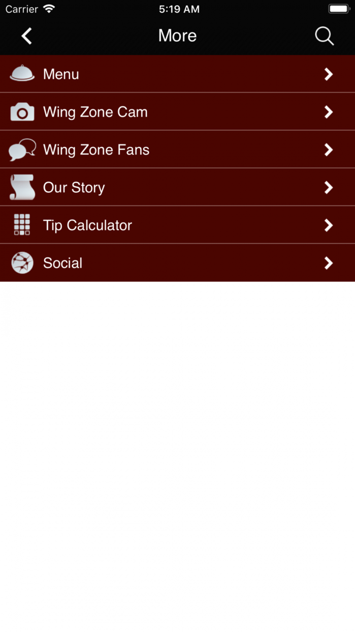 Wing Zone Screenshot