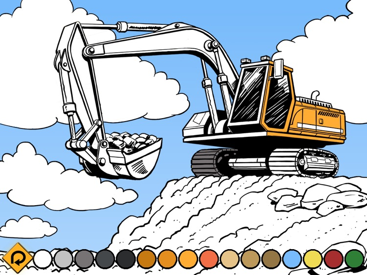 Kids Vehicles: Construction HD for the iPad screenshot-2