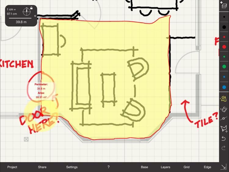 Arrette Scale sketch drafting screenshot-3