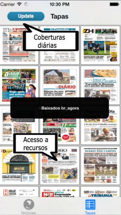 Entre Notícias Brasil screenshot three