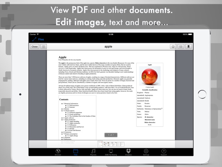 eDl HD Free - Web Browser and File Manager screenshot-3