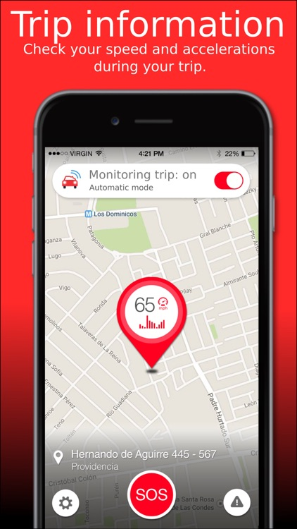 SOSmart automatic car crash detection screenshot-4
