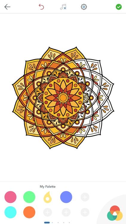 Mandala Coloring Pages ! screenshot-3