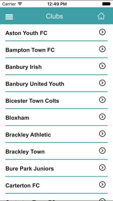 Witney & District Youth FL screenshot three