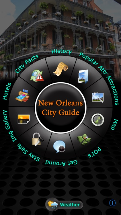 New Orleans Offline Map Travel Guide