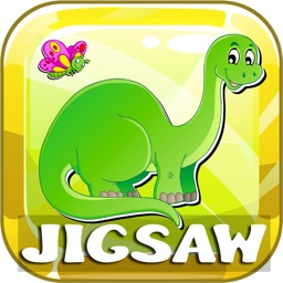 Dinosaurs Jigsaw Puzzles Free For Kids & Toddlers!