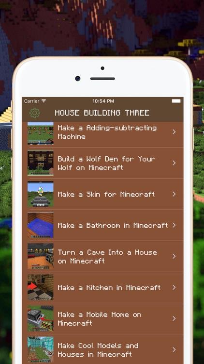 Free MC House Guide for Minecraft PE screenshot-3