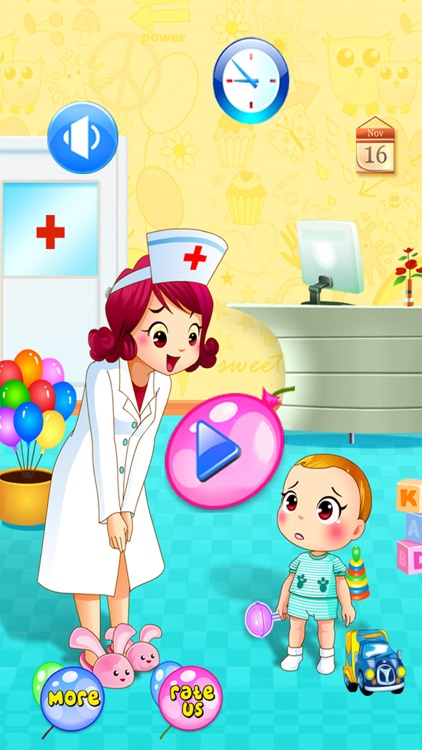 Baby Doctor Dentist Salon Games for Kids Free screenshot-4