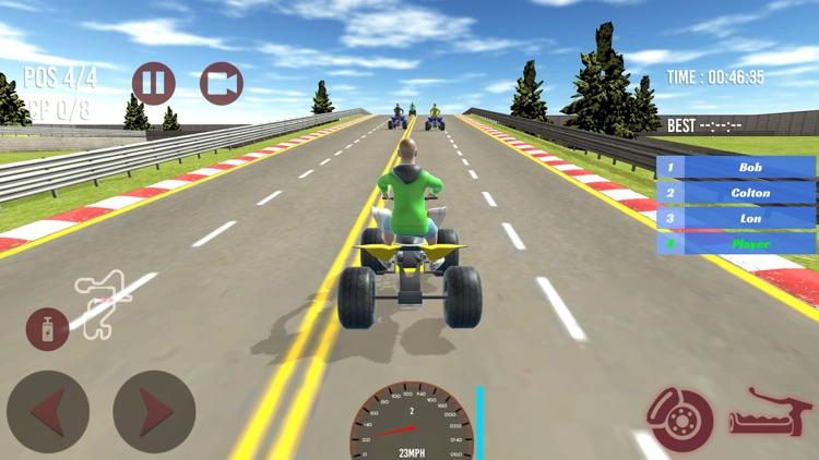 Super ATV Quad bike racing 3D