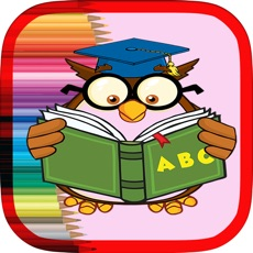 Activities of ABC alphabet Coloring book - Learning game