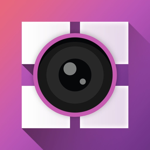 Camera Reverse - Photo Editor, Photo Collage Maker with free grid layout for picture art