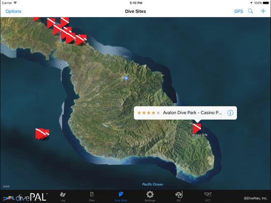 divePAL Plan, Analyze and Log Dives screenshot