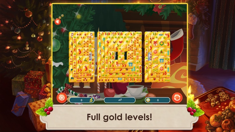 Mahjong Christmas 2 Free screenshot-4