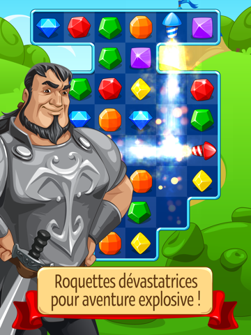 Screenshot #4 pour Knight Girl - Match 3 Puzzle