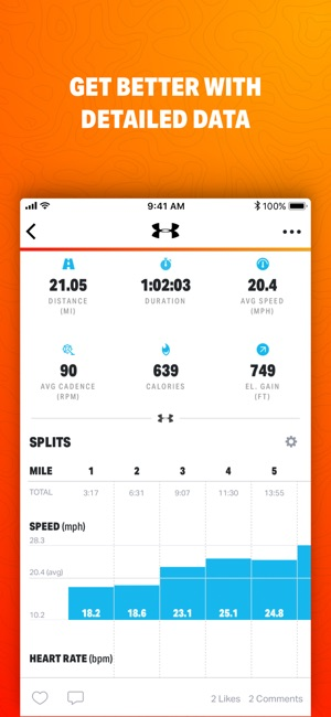 Map My Ride by Under Armour Screenshot