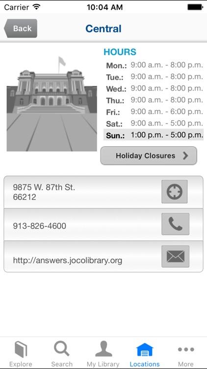 Johnson County Library screenshot-3