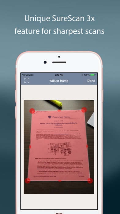 TurboScan: quickly scan multipage documents into high-quality PDFs Screenshot 5