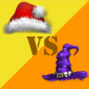 Christmas vs Halloween Draughts