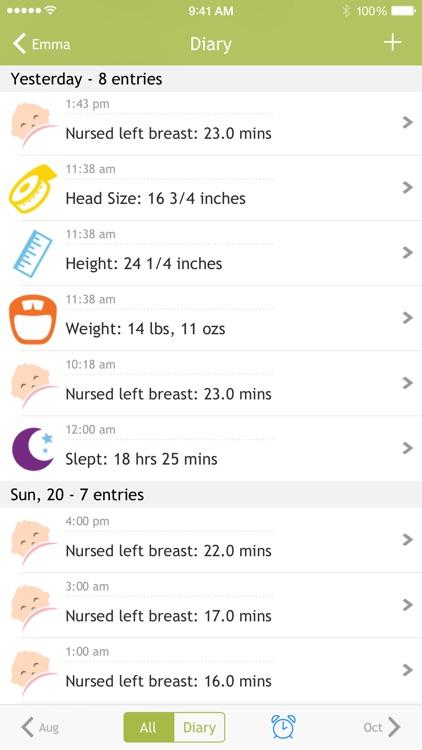 Baby Nursing - Breastfeeding Tracker screenshot-3