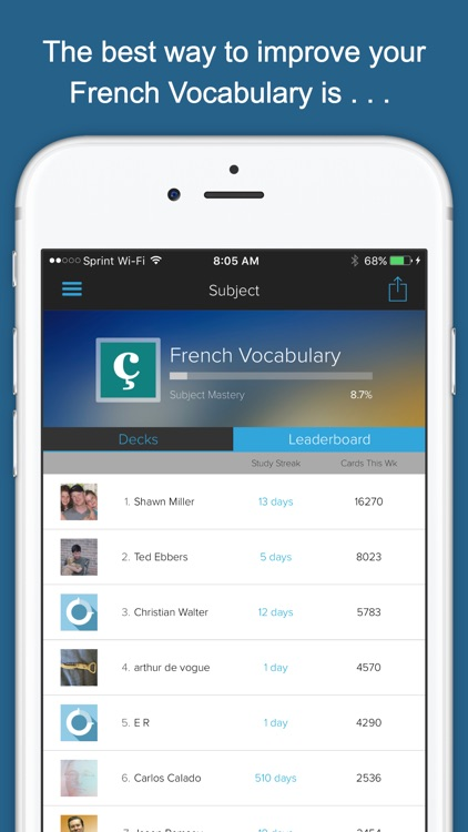 French Vocab Genius screenshot-3