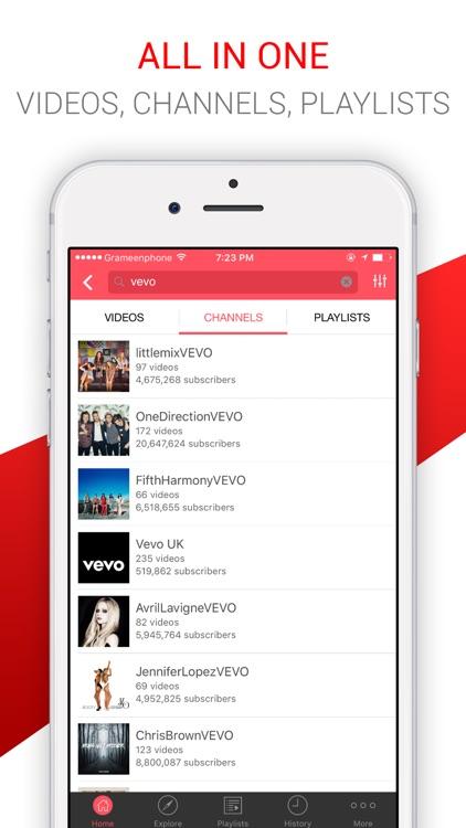 Tubium - Music & Video Player for YouTube Music screenshot-3