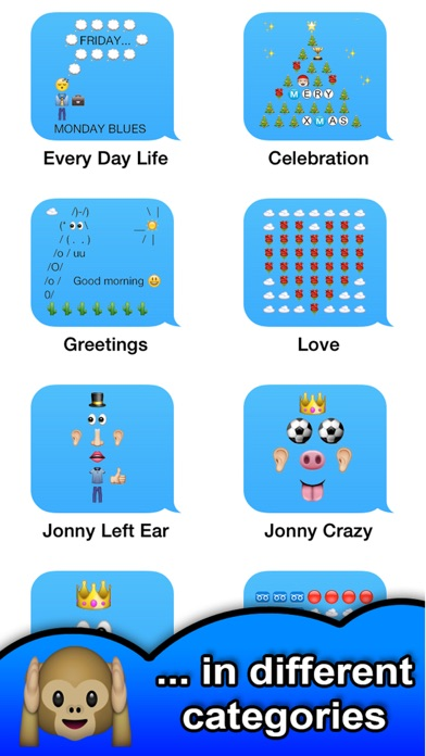 SMS Smileys Emoji Sticker PROのおすすめ画像3