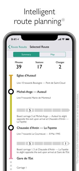 Paris Metro Map App.Paris Metro Map And Routes On The App Store