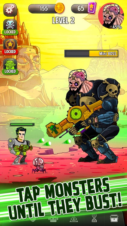 Tap Busters: Galaxy Heroes screenshot-3