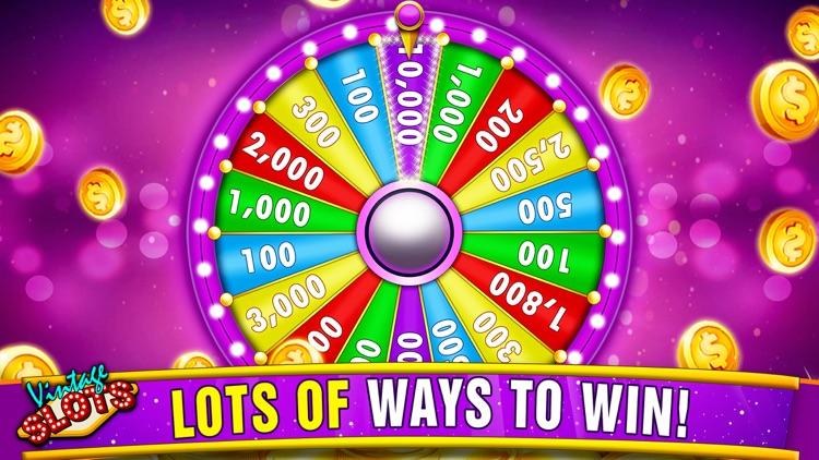 Vintage Slots Las Vegas - Old Slot Machine Games! screenshot-4