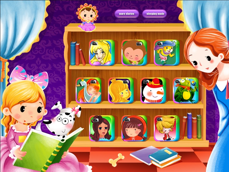 10 Books Classic Bedtime Fairy Tales iBigToy screenshot-0