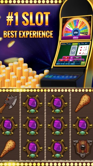 Vikings Clash Casino Slot Game Screenshot