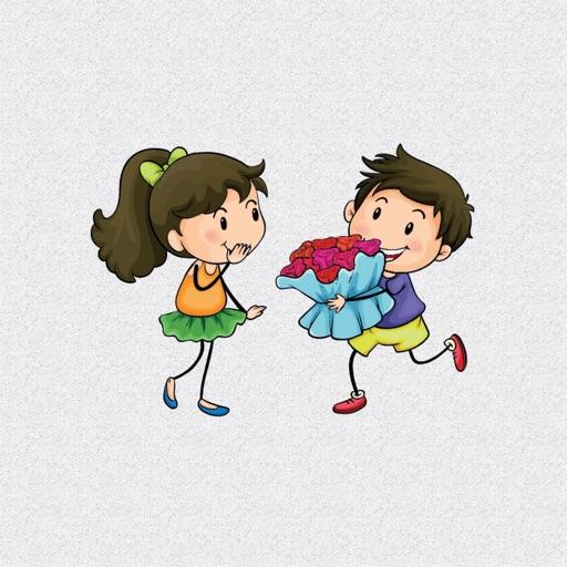 Cute Kids Romance