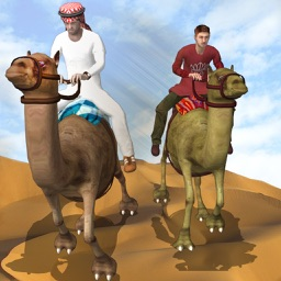 Camel Racing in Dubai - Extreme UAE Desert Race