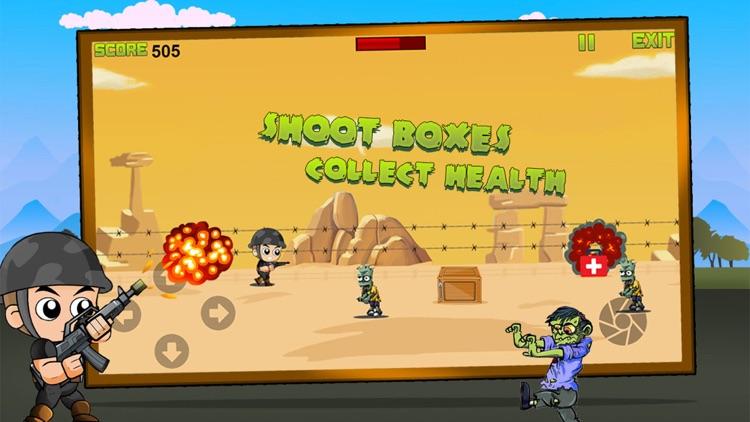 Captain War : Zombie Killer screenshot-4