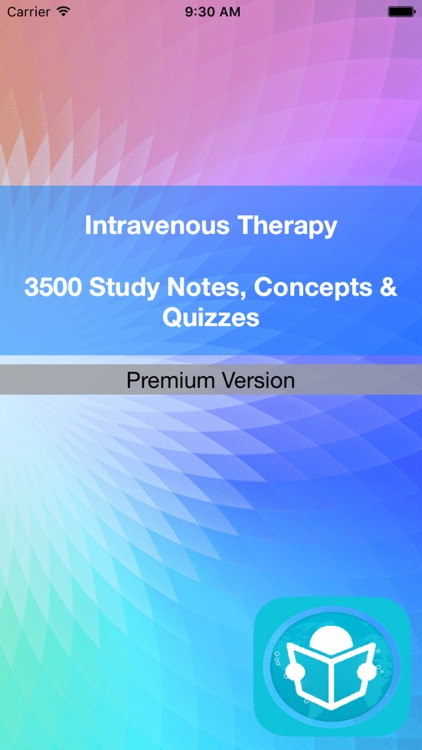 Intravenous Therapy Test Bank App- Terms & Quizzes