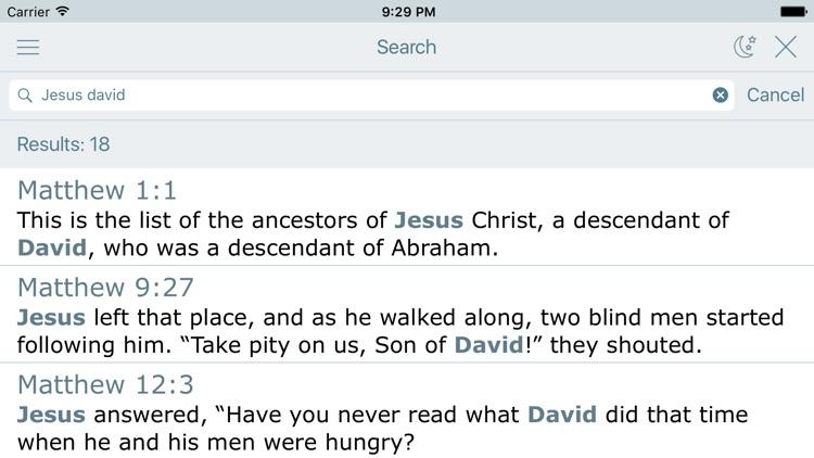 Good News Bible (Audio GNB) screenshot-3