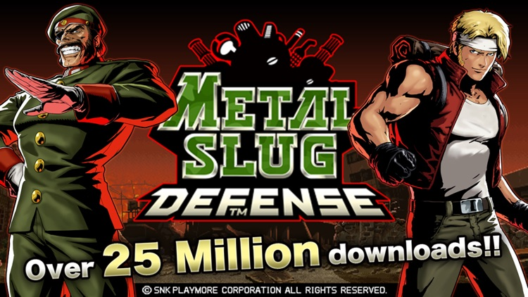 METAL SLUG DEFENSE screenshot-0