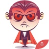 Funny Dracula stickers by KORCHO for iMessage