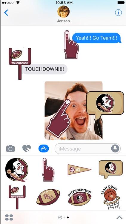 FSU Seminoles Stickers - iMsg