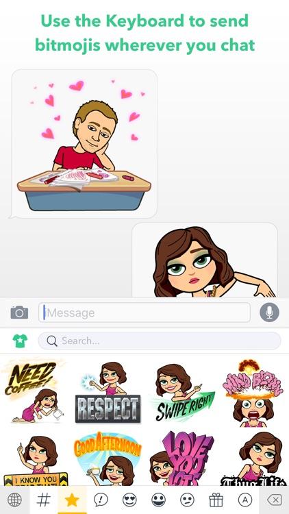 Bitmoji - Your Personal Emoji app image
