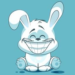 Stkyz: White Bunny