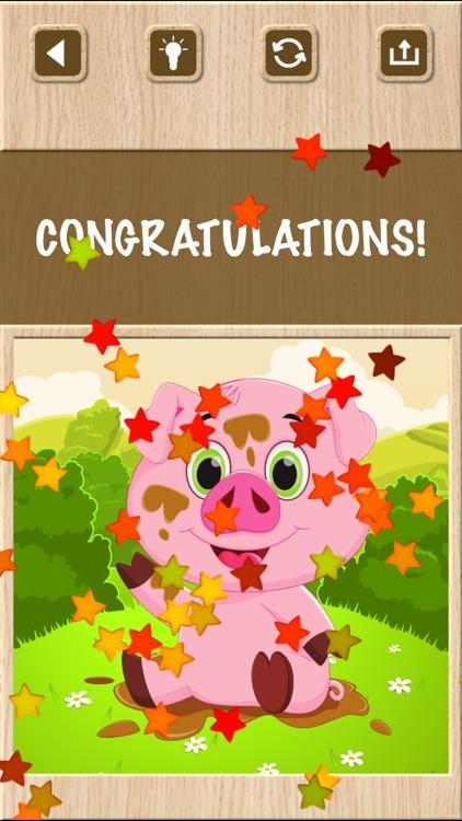 Cute Jigsaw Puzzle Games screenshot-9